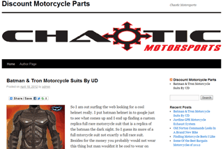 Motorcycle Blog