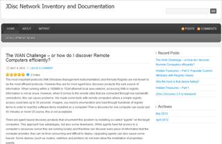 Netzwerk Inventarisierung und Dokumentation