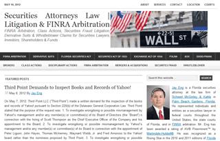 Securities Attorneys Law | Litigation & FINRA Arbitration